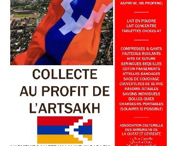 COLLECTE AU PROFIT DE L'ARTSAKH