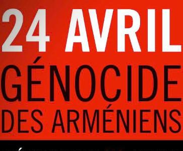 Commémoration du 103e anniversaire du génocide arménien
