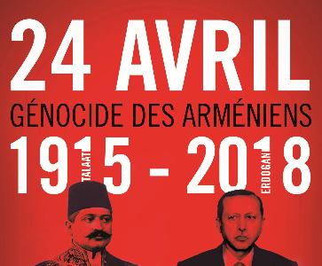 Commémoration du Génocide des Arméniens à Bourg-Lès-Valence
