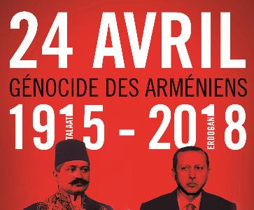 Commémoration du Génocide des Arméniens à Lyon
