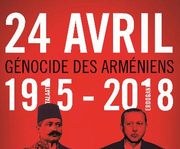 Commémoration du Génocide des Arméniens à Marseille