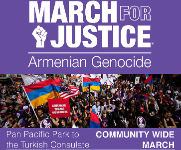 Community-Wide March For Justice to the Turkish Consulate