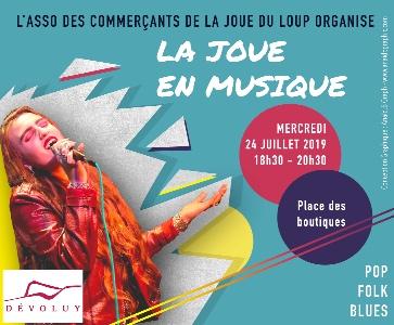 Concert Anaïd.B - LA JOUE EN MUSIQUE