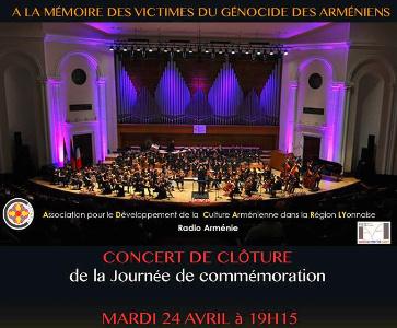 Concert de clôture de la Journée de commémoration