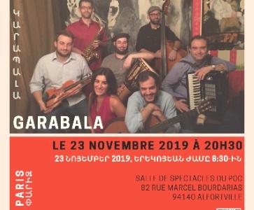 Concert de Garabala, une première en France !