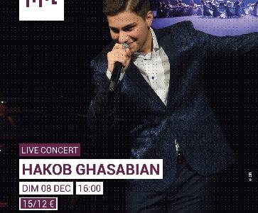 Concert de Hakob Ghasabian