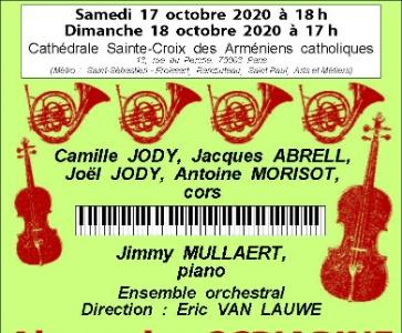 Concert de l'Ensemble orchestral Eric Van Lauwe