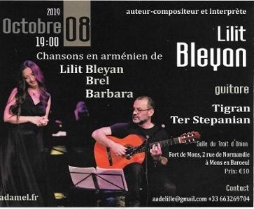 Concert de Lilit Bleyan