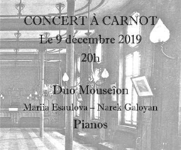 Concert de Noël à deux pianos