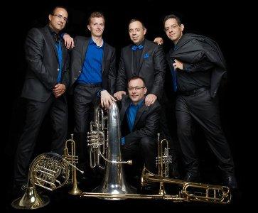 """Concert du quintette à cuivre Geneva Brass Quintet avec les """"Scènes arméniennes"""" du compositeur Alexandre Aroutiunian"""