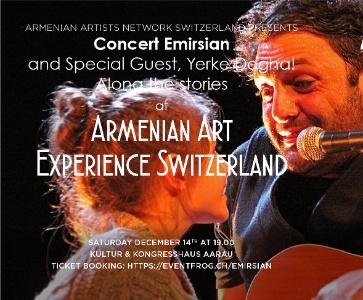 Concert Emirsian Yerke Degha ! Along the stories !