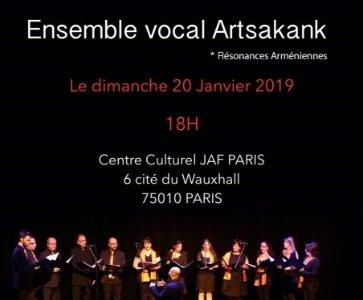 concert Ensemble vocal  ARTSAKANK