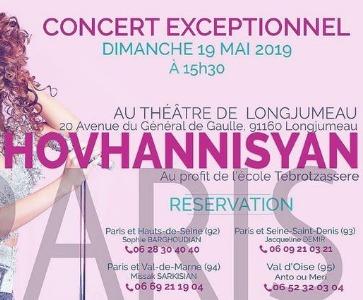 Concert EXCEPTIONNEL Lilit Hovhannisyan