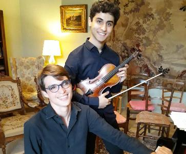 Concert Grégoire Torossian-violon et Emile Chandellier-piano