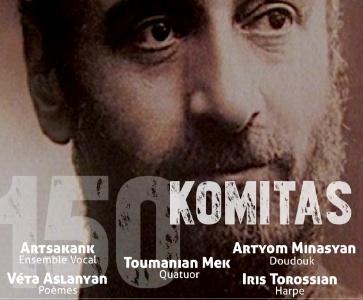 Concert hommage à l'occasion du 150e anniversaire de la naissance de Komitas