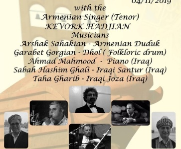 Concert  of Armenian Classical Music