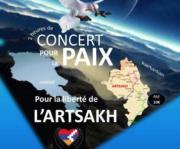 Concert pour la Paix et pour la liberté de l'Artsakh