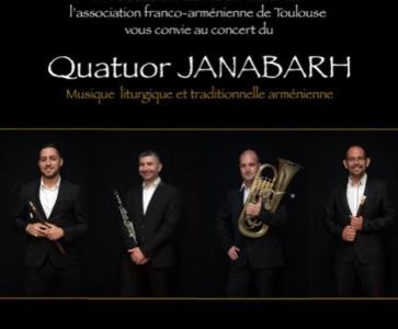 Concert Quatuor JANABARH