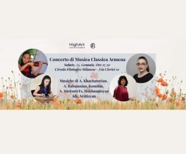Concerto di Musica Classica Armena