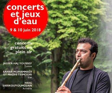 Concerts et jeux d'eau au Domaine national de Saint-Cloud