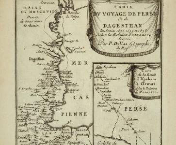 Conférence : « Traverser le Caucase au XVIIe siècle : vécus et représentations cartographiques du voyage »