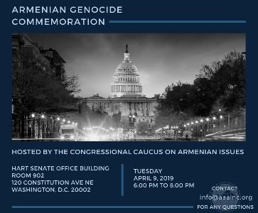 Congressional Armenian Genocide Commemoration