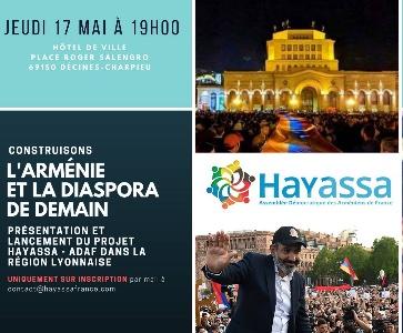 Construisons l'Arménie et la Diaspora de demain