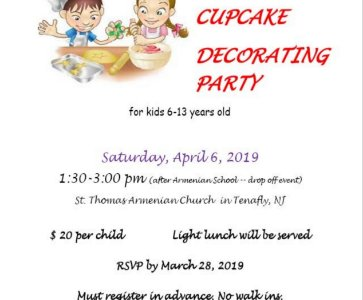 Cookie & Cupcake Decorating Party for Children