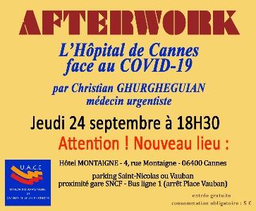 L'Hôpital de Cannes face au COVID-19