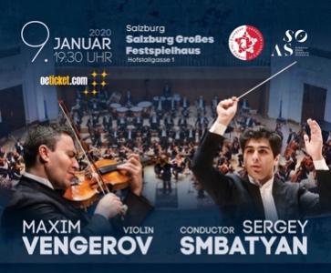 Das Armenian State Symphony Orchestra & Maxim Vengerov: Salzburg