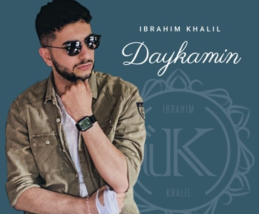 The Yezidi singer Ibrahim Khalil's first concert