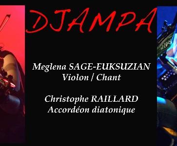 Djampa en concert à Bourg-lès-Valence