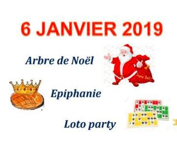 Epiphanie - Loto et Arbre de Noël