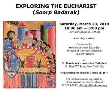 Exploring the Eucharist (Soorp Badarak)
