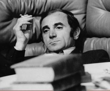 EXPO Photo AZNAVOUR, 'La langue Française est mon pays' photos Roger Kasparian
