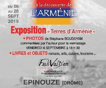 """Expo photos """"Terres d'Arménie"""""""