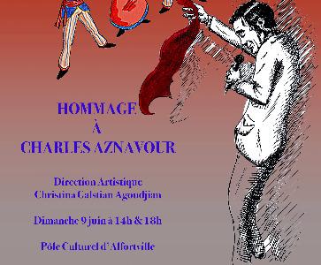 """GALA DE FIN D'ANNÉE YERAZ : """" Hommage à Charles Aznavour """" Dimanche 9 Juin à 14h et 18h"""
