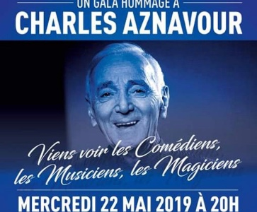 Gala Hommage à Charles Aznavour