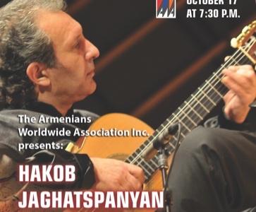 Hakob Jaghatspanyan with classical guitar concert «All Colors of Autumn»