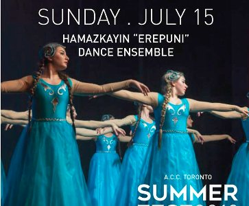 "Hamazkayin Toronto ""Artsakh"" Dance Academy and ""Erepuni"" Dance Ensemble"