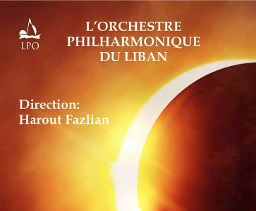 Harout Fazlian with the Lebanese Philharmonic Orchestra