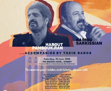 HAROUT PAMBOUKJIAN & KARNIG SARKISSIAN