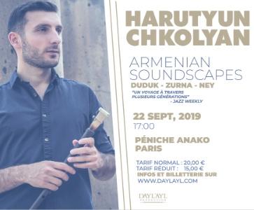 Harutyun Chkolyan en concert à Paris !