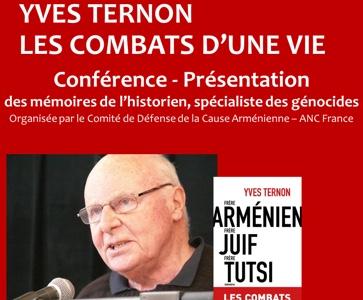 Hommage à Yves Ternon