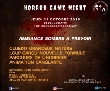 Horror Game Night