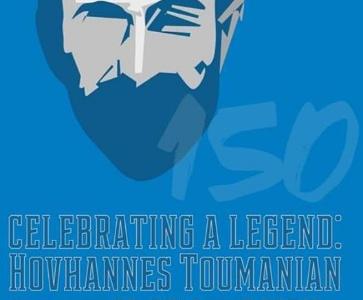Hovhaness Tumanyan 150th birth anniversary