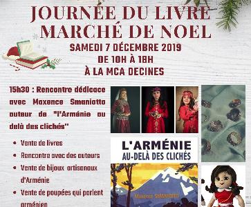 Journée du livre et marché de Noël
