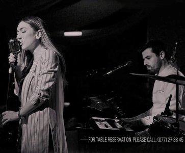 Karina Arustamyan/Hovsep Yeremyan and The Band at Arevik Lounge