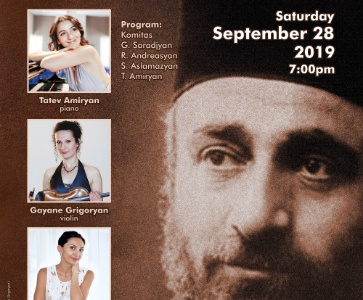 KOMITAS 150:  COMMEMORATION CONCERT