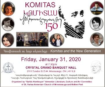 KOMITAS 150 Concert